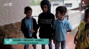 Los3KapuiViajeros en su visita al Museo de los Niños Caracas Venezuela